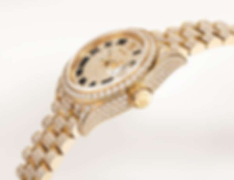Oyster Perpetual Lady-Datejust,28毫米,18ct黃金