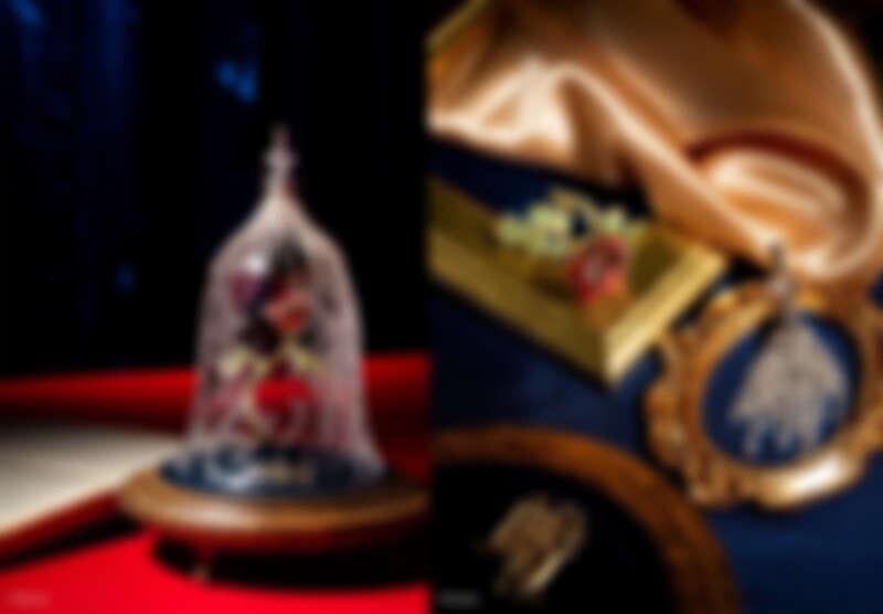 美女與野獸魔法玫瑰 參考售價: 7,000,000 日幣