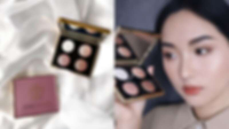 Bobbi Brown 2021限量神仙光影系列鑽石4色眼影盤(IG@bb_jp_sakuta)、實擦(IG@monimoni_makeup)