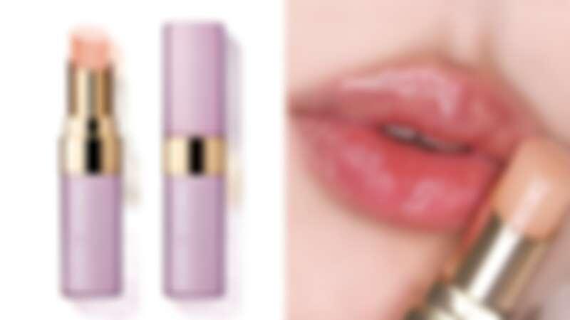 Bobbi Brown 2021限量神仙光影系列晶鑽桂賦潤色護唇膏唇照#Bare Pink(IG@l.y.h_1993)