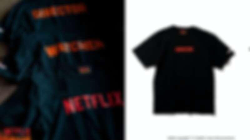 Netflix X Beams 聯名T恤