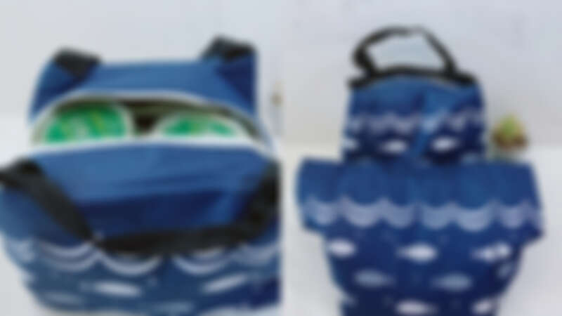 ▲內層袋子要綁緊減少空隙,再三確認袋子與提把是否堅固。