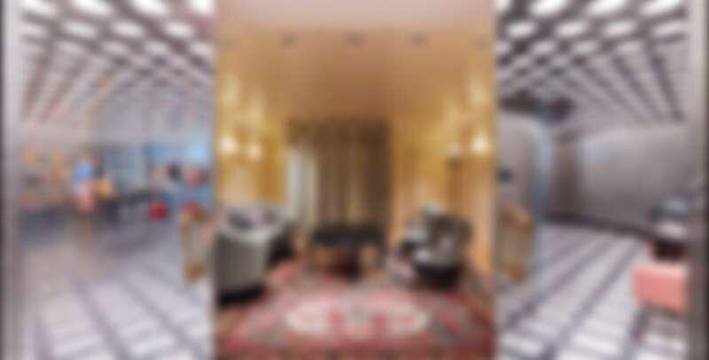 Gucci Gaok旗艦店貴賓室,提供VIP私人的購物空間