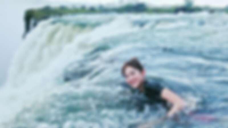 ▲游泳也是魏華萱的嗜好。(圖 / 魏華萱提供)