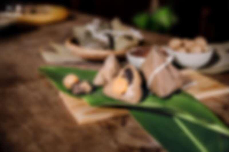 十八王公肉粽皂以抺草、馬纓丹為材,別具民間習俗意義與祝福心意。