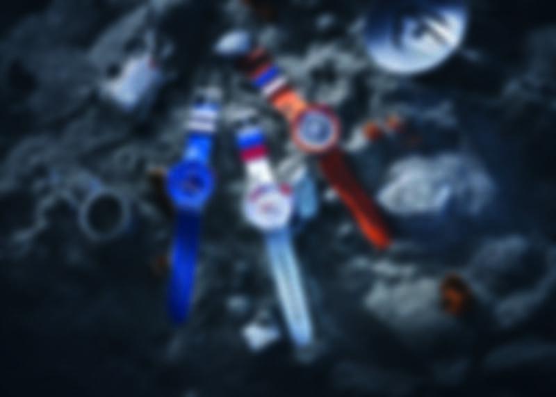 Swatch X NASA BIG BOLD系列