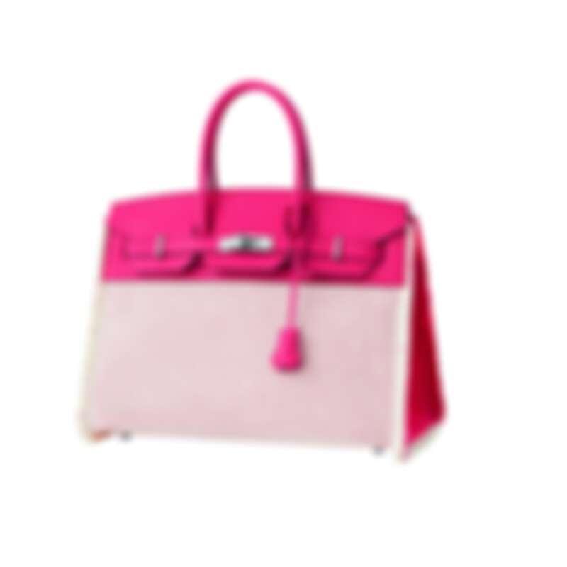 Hermès Birkin帆布手提包,NT$315,800。