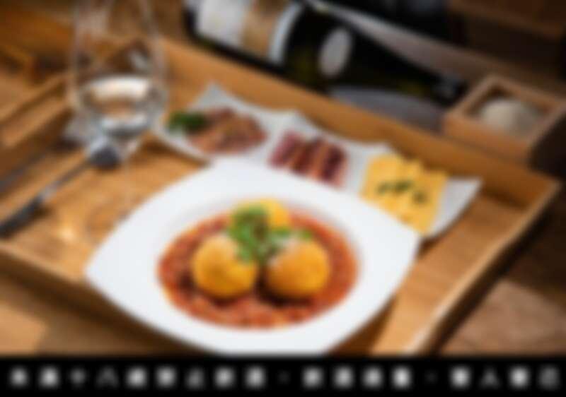 去年活動中的獺祭米定食的其中一款餐酒搭配,主食是炸飯球佐波隆那肉醬,搭配了來自新潟縣的阿部酒造,這系列的酒是以星空為命名,regulus 意思是獅子座。