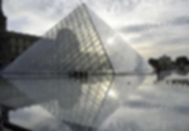 ▲法國羅浮宮是世界知名的藝術館。(圖/歐新社、達志影像)