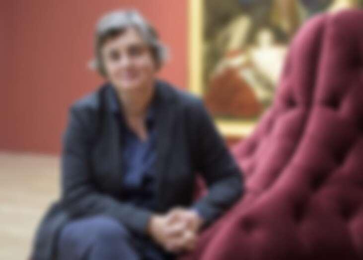 ▲德卡爾成為羅浮宮228年來首位女館長。(圖/美聯社、達志影像)