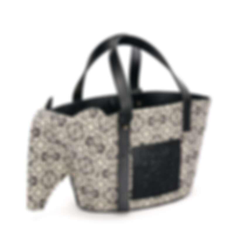 Loewe大象造型提花手提包,售價店洽