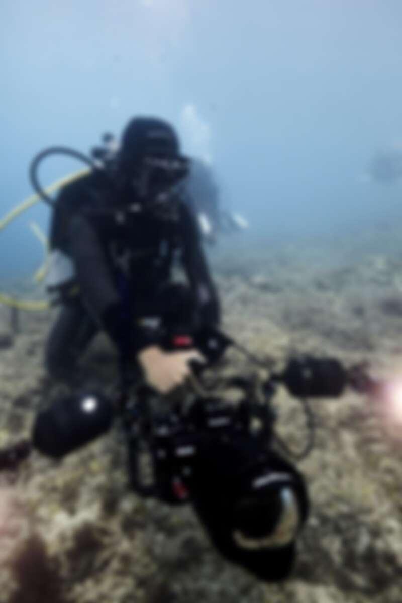 ▲▼在水下工作有很多技術層面的難題需要克服。(圖/袁緒虎提供)