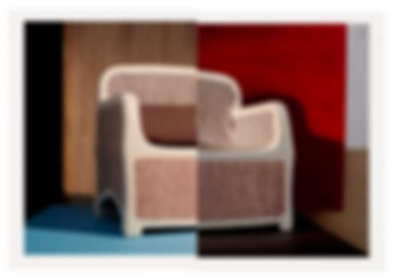 Sillage d'Hermès 扶手椅,售價未定。