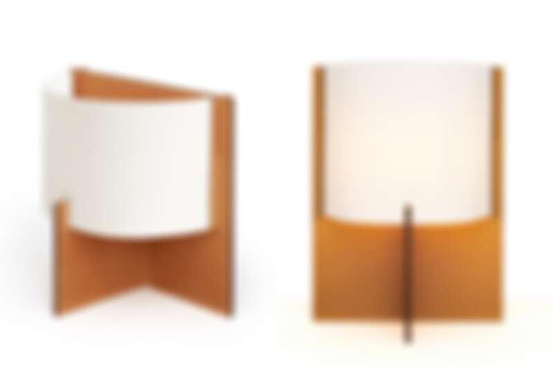 (左)Sarazine 系列檯燈(小),售價未定。(右)Sarazine 系列檯燈(大),售價未定。