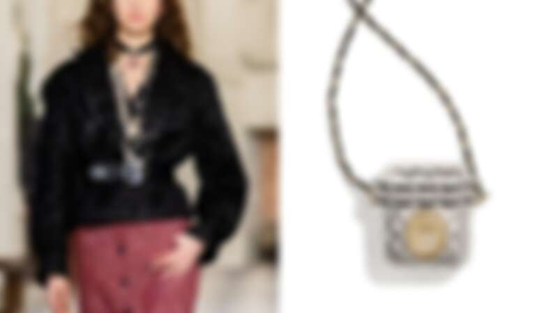Chanel 銀色Airpods 收納盒,售價NT$74,500