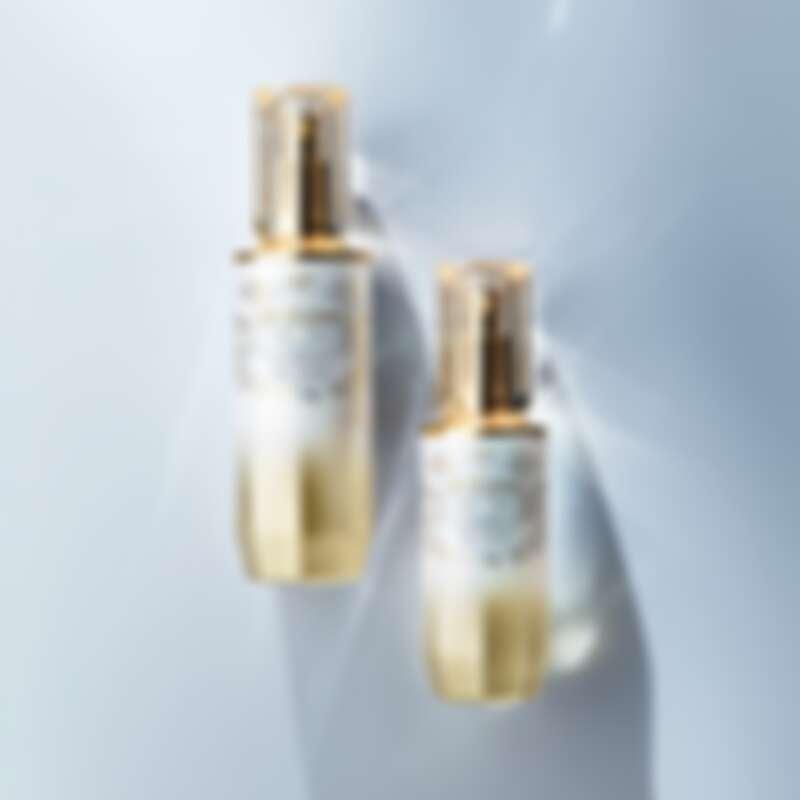 肌膚之鑰精萃光采系列璀璨限量版激光瓶共推出50ml、75ml兩種容量