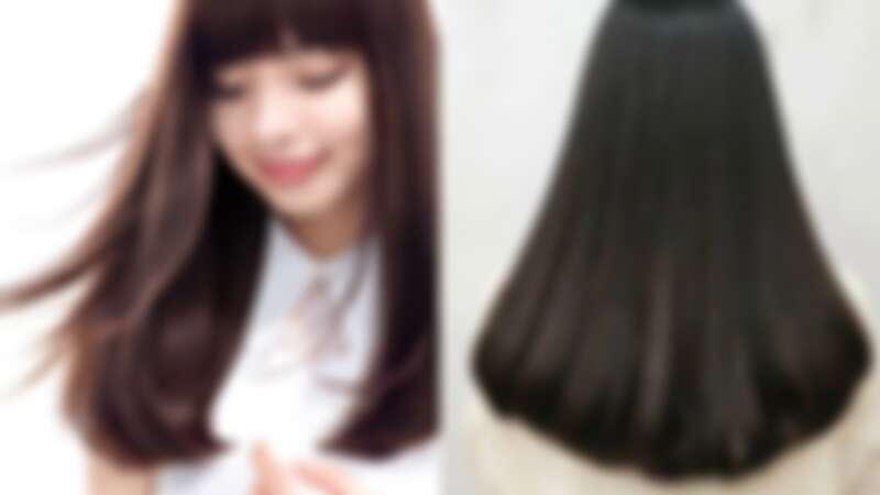 資生堂專業美髮建議面試髮型,以深色直髮造型增加信賴感(左圖資生堂提供、右圖by @ola_hair_salon