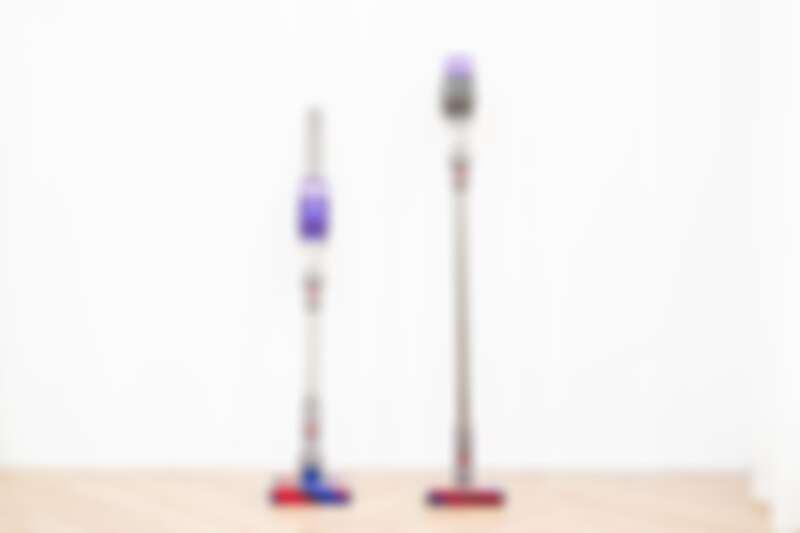 (左) Dyson Omni-glide、(右)Dyson Micro 1.5kg