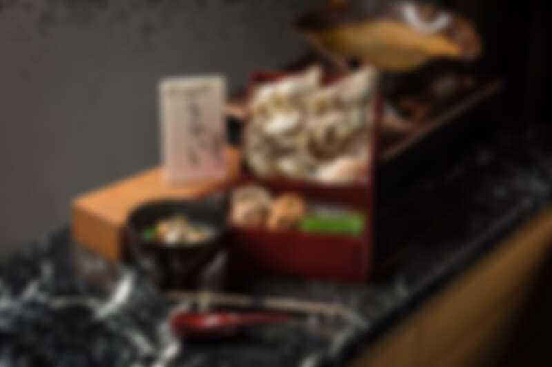 綜合貝類 UKAI 特製飛龍頭鍋物,售價1,680元。
