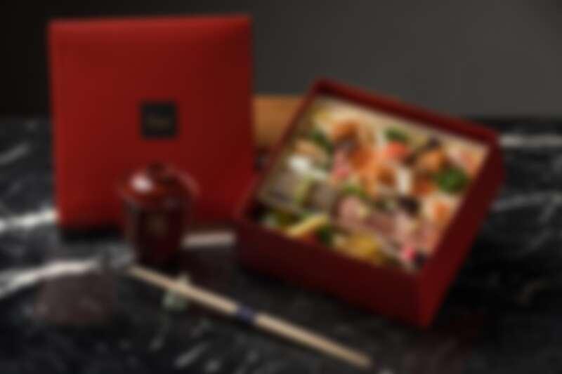 綜合海鮮散壽司,售價1,280元。