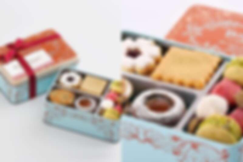 餅乾禮盒(甜)日幣2,500元(含稅)。