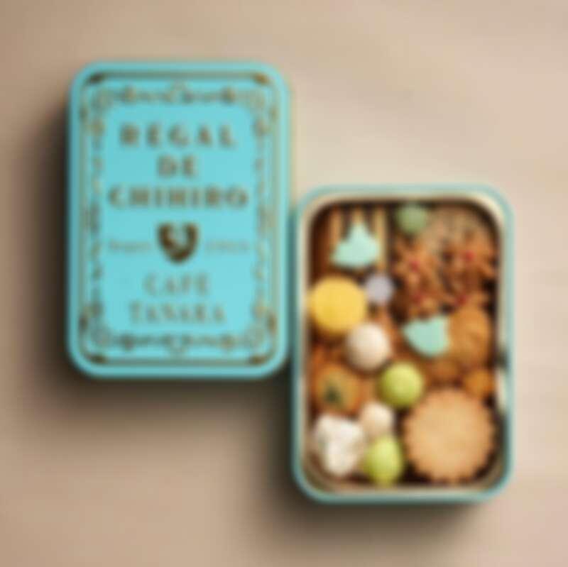 常溫餅乾禮盒為日幣2,808元(含稅)。