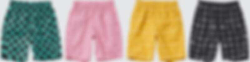 Uniqlo X GU X《鬼滅之刃》聯名童裝輕便褲,NT$290