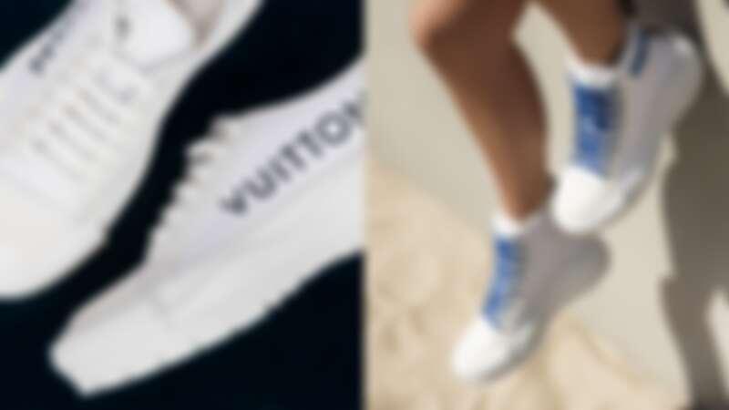 Louis Vuitton LV Squad系列帆布鞋,NT31,000-NT32,500