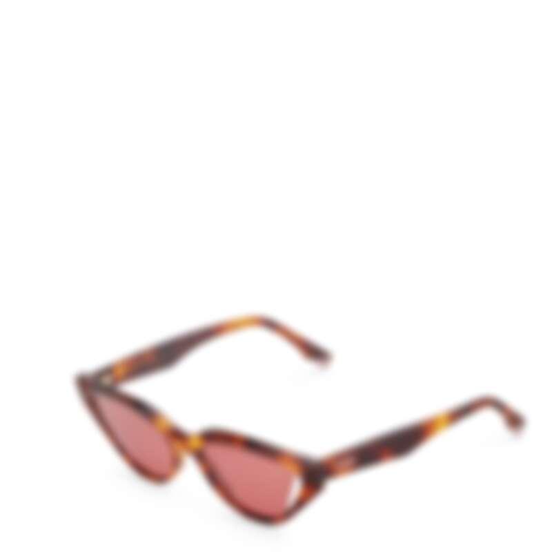 FENDI Way 系列玳瑁造型貓眼框太陽眼鏡,NT12,250。
