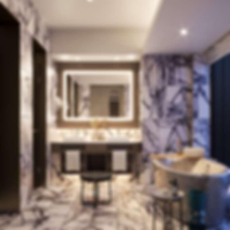 高雄洲際酒店浴室空間