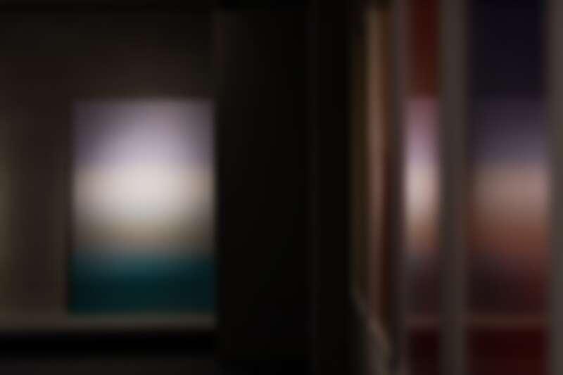卡洛琳·阿萊,《#284,北極之地,芬蘭北部》,2019年,C-print、Fujiflex 收藏級相紙,120x180cm。