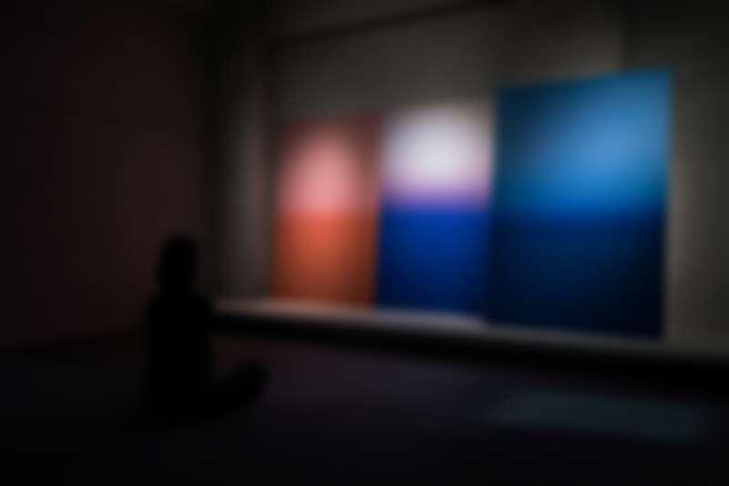 卡洛琳·阿萊的作品於《希望》展覽現場。