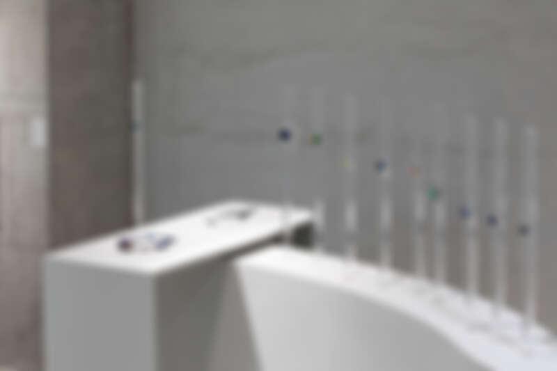 鎌田治朗的作品於《希望》展覽現場。