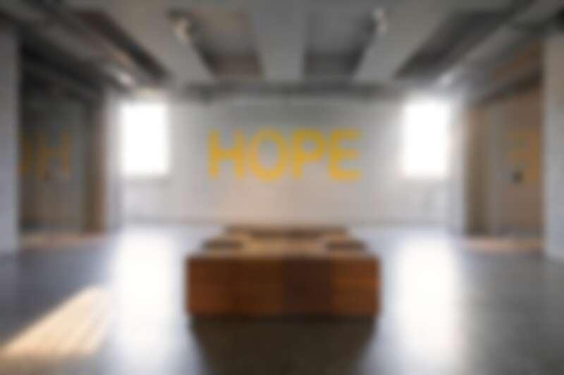 《希望》展覽現場,金馬賓館當代美術館。