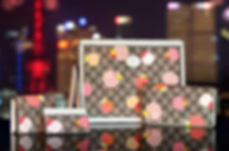 Gucci Les Pommes七夕情人節特別系列:短夾NT13,600、卡夾NT9,500、長夾NT23,900。