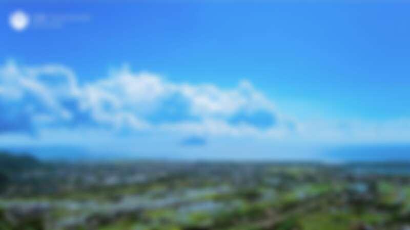 山形閣遠眺蘭陽平原的景緻。