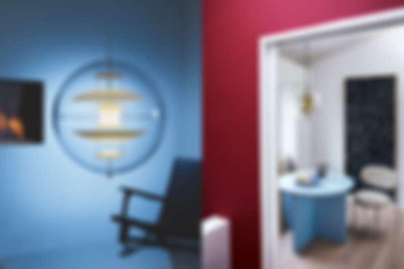 VP Globe 地球吊燈,北歐櫥窗。