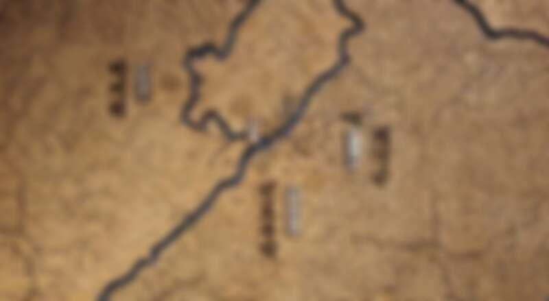 《屍戰朝鮮:雅信傳》地理位置圖