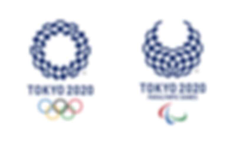 2020年東京奧運 Logo,表演節目使用1,824台無人機排列奧運 Logo。