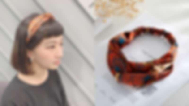 (右) CHIC CHIC日本滾輪造型髮帶,NT145(寶雅提供)