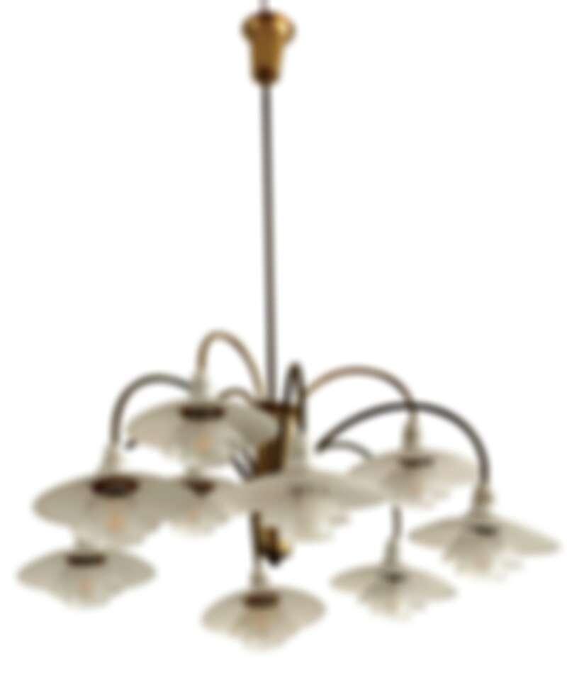 PH-2/1 Cascade chandelier 吊燈。