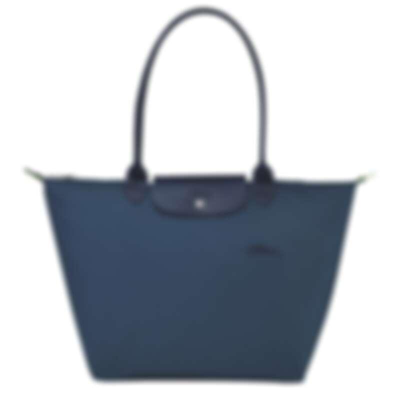 Le Pliage Green系列 肩揹袋 L (海洋藍),NT4,900