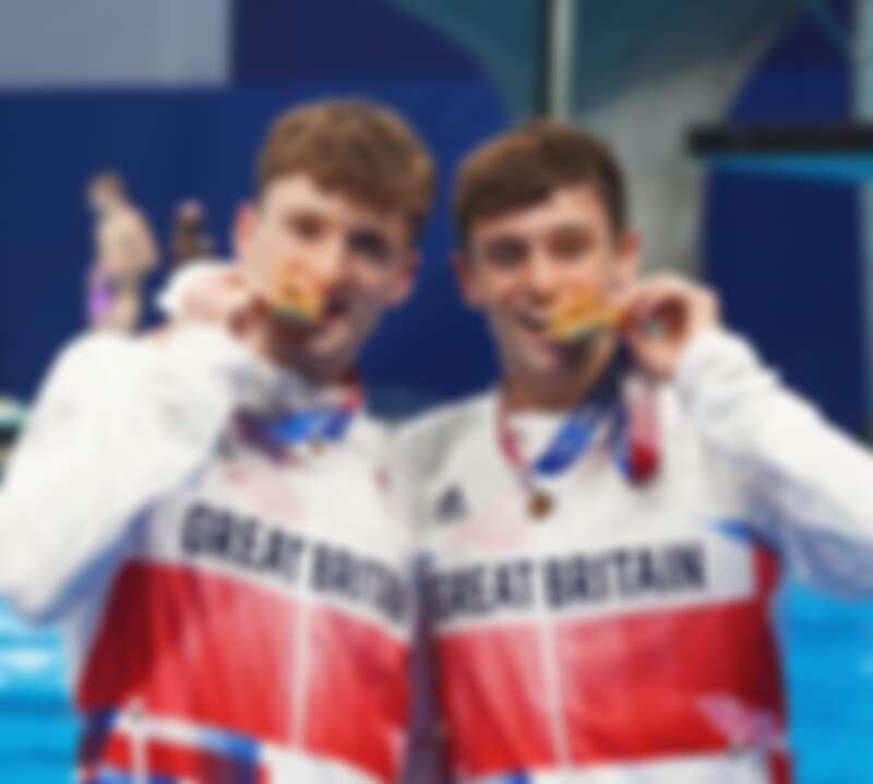 Tom Daley 日前與23歲的搭擋 Matty Lee 在26日的的男子雙人高台跳水項目中奪冠。