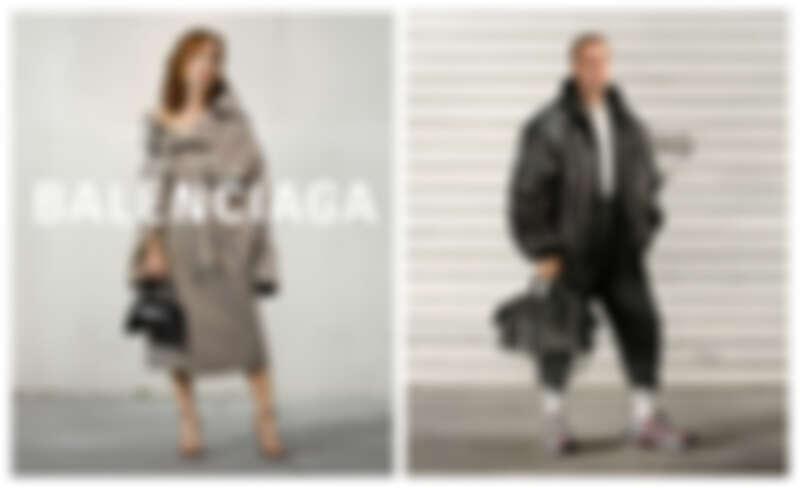 Balenciaga 最新形象廣告由影后 Isabelle Huppert、Justin Bieber 擔綱演繹。