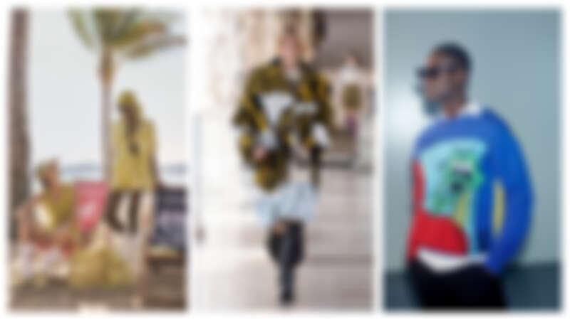 (左)DIORIVIERA 度假膠囊系列、(中) Louis Vuitton秋冬系列女裝、(右)Off-White 首度推出太陽眼鏡系列
