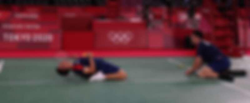 麟洋配再度寫下新紀錄,奪下奧運金牌