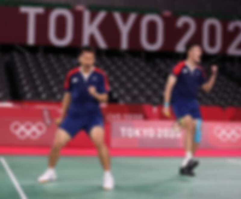 麟洋組合再次刷新台灣羽球史上新紀錄,獲得台灣在奧運史上的第一面羽球男雙金牌