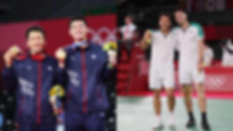李洋、王齊麟奪下2021東京奧運金牌