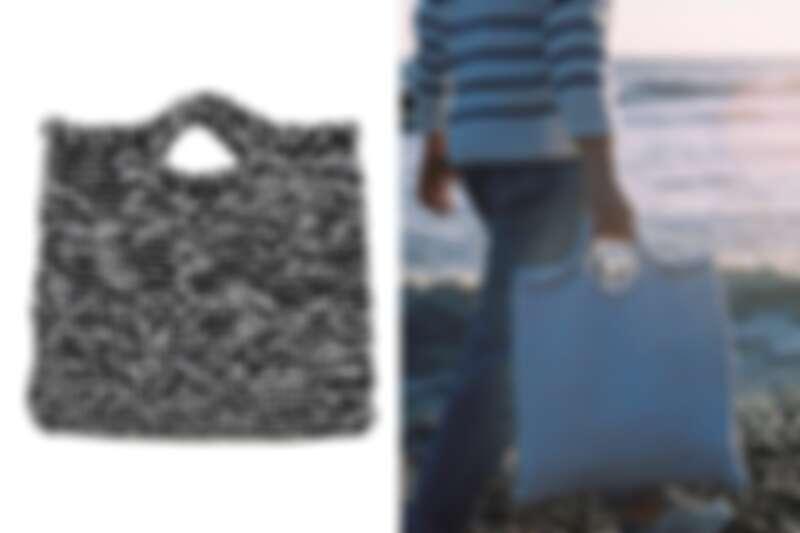 招牌商品 Zigazig Shopper 手提袋適合初學者作為入門作品。
