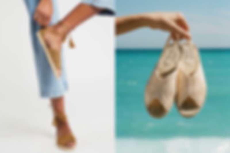 鞋面即是鉤針編織面。